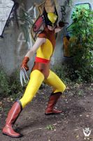 Classic Brown Wolverine Cosplay by joker99xdraven