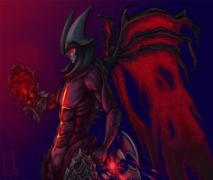 LoL Champion Series: Aatrox by Kookishin
