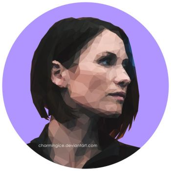 Low Poly Alex Danvers by CharmingIce
