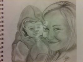 Girl and Baby by mrreallydeviant87