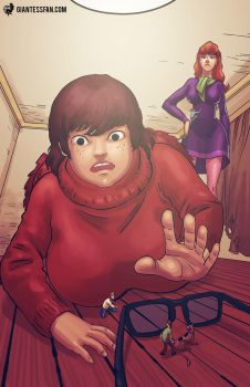 Mystery, Inc. Miniaturized by giantess-fan-comics