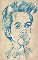 Robert Downey Jr Pencils by CaziTena