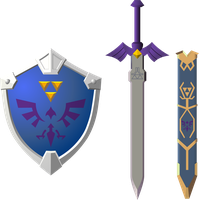 Request - lorule sword and shield by Doctor-G