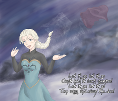 Let It Go - Elsa by Tanuki-desu