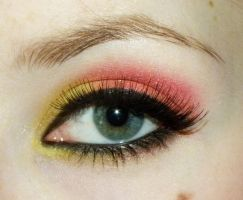 Indian Sunset make up by Klaudia88