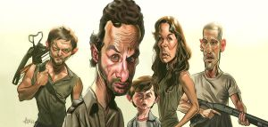 The Walking Dead by arielmedel