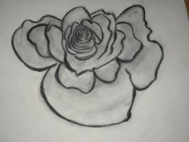 charcoal rose 2 by xLostRemedyx