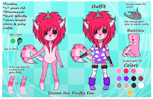 :ref: Shane the Fluffy Fox by Love-Finds-Adventure