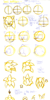 SONIC STUDY PART 1 (HEAD) by Gigi-D