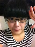 Me without makeup and circle-lens by takkeaya