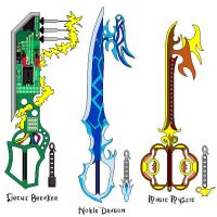 keyblade 7 by suburbbum