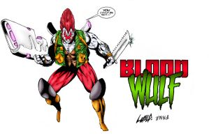 Bloodwulf - Rob Liefeld by pascal-verhoef