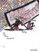 Soul Eater DANTE and MOON by BladenCross13