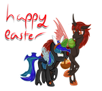 (Gift) Happy Easter Amanita by Law44444