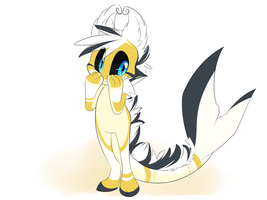 Yellow Floofshark by Void-Shark