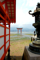 Itsukushima Shinto Shrine ll by rikachu426