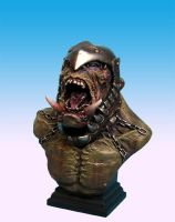 orc bust 2 by sculptart31