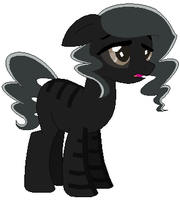 Wither Skeleton Pony Auction -CLOSED- by Dos-Lil-Adoptables