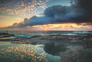 Impact on the Shore by MarkLucey