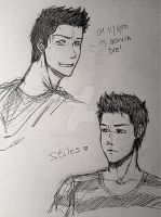 -Stiles Stilinski- by Marty3o