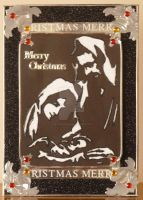 Nativity in Black and Silver by blackrose1959