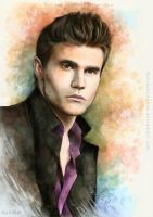 Stefan Salvatore by EternaLegend
