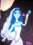 The Corpse Bride-Painting by karutimburtonfan