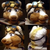 Zero Skunk Head Done by LobitaWorks