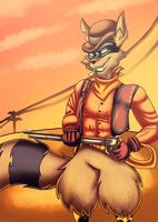 Sly C. - Wild West Memories by KaylaTheDragoness