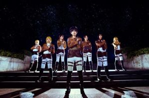 Shingeki-no-kyojin-attack-on-titan-cosplay by Mcosplay