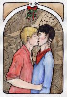 Merlin BBC: Mistletoe by Yume07