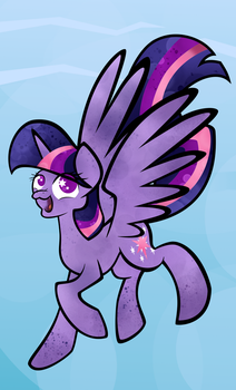 Princess Twilight (Season 4 Special) by TellabArt