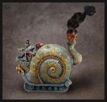 Steam Snail. by shawnrl61