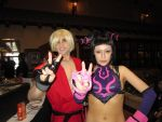 Ken and Juri Cosplay - Con-Nichiwa 2013 by hgssSilverFan