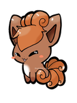 Chibi Vulpix by ApocalypseKitty