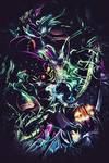 The Green Goblin Vertical by Rabling-Arts