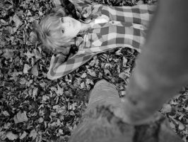 Lay in Leaves by ZusaLiko