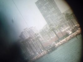 a pic through a periscope by Ozzlander