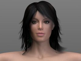 Custom 3D Realistic Female by artistsvalley
