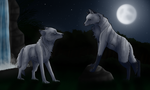Howling Moon by Cicide76536