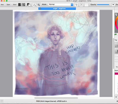 whoooaa another wip? so different! much original! by ChickenFingerParty