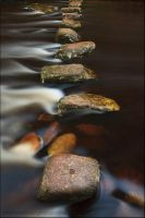stepping stones by sassaputzin