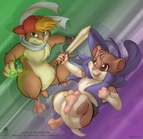 Hamster Power by avencri