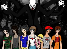Slender Man by Isaribi123