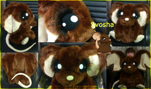 Transformice. Svosha. Plush by krikdushi