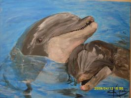 Dolphins by DragonRider19982010