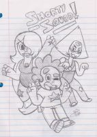 Steven Universe - Shorty Squad! by uhnevermind