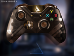 Xbox One Controller | Halo ONI Edition by JohnGohex