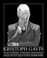 KRISTOPH GAVIN WILL STEAL YOUR SOUL by BloodyFatalis
