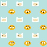 Adventure Time Pattern by Torotix